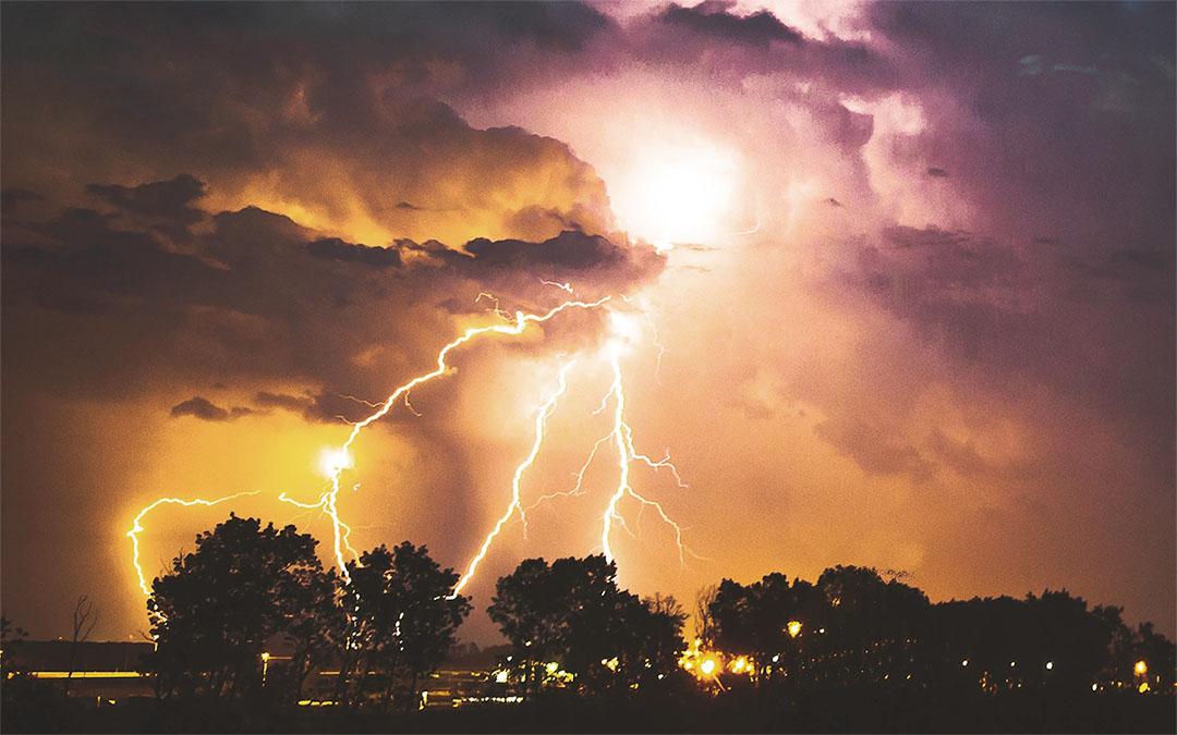 Tempestade no céu