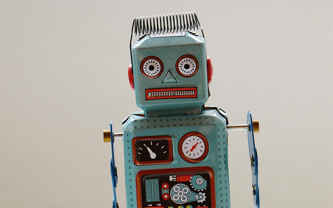 Um robô religioso