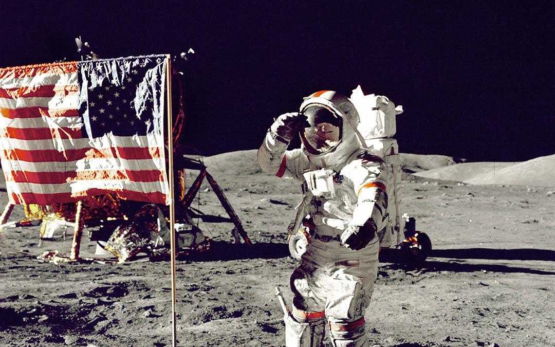 Um homem na Lua